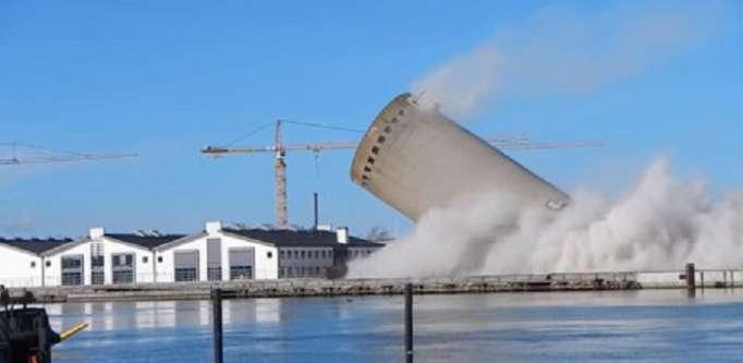 Danemark: La démolition d