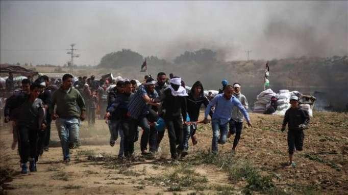 Qəzzada qarşıdurma: 700-dən çox fələstinli yaralandı (VİDEO)