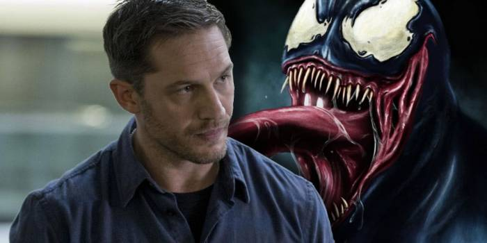 Venom trailer offers first actual look at Tom Hardy