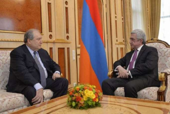 İki Sarkisyan arasında görüş keçirilib