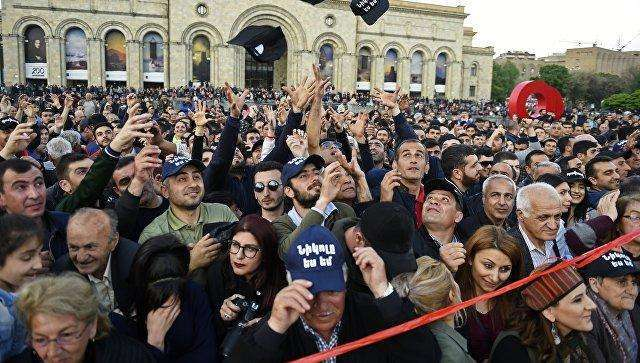 Opposition rally begins in Yerevan - LIVE