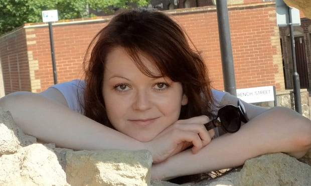 Yulia Skripal discharged from hospital after Salisbury attack, reports say