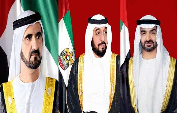 رئيس الدولة ونائبه ومحمد بن زايد يهنئون قادة الدول العربية والإسلامية بحلول شهر رمضان المبارك