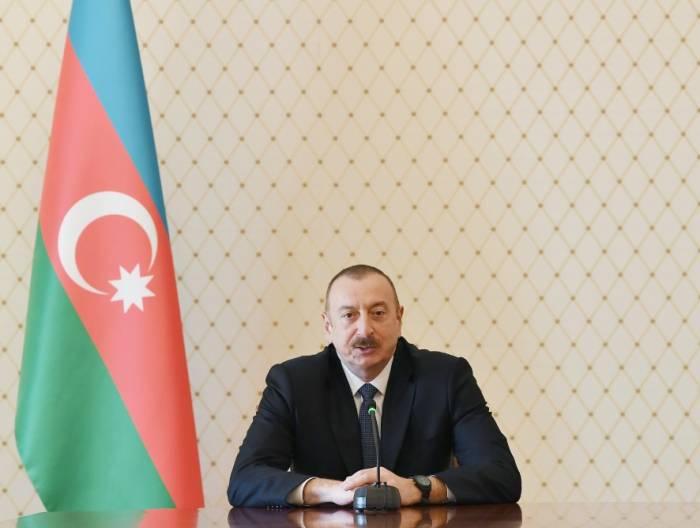 """""""حل النزاع سيضمن الاستقرار في المنطقة"""" - الهام علييف"""