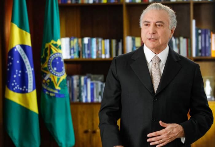 Braziliya prezidenti İlham Əliyevi təbrik edib
