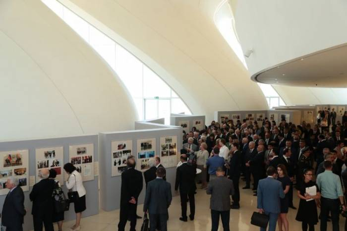 """Exhibition titled """"Heydar Aliyev: Personality, Mission, Heritage"""" opens in Baku"""