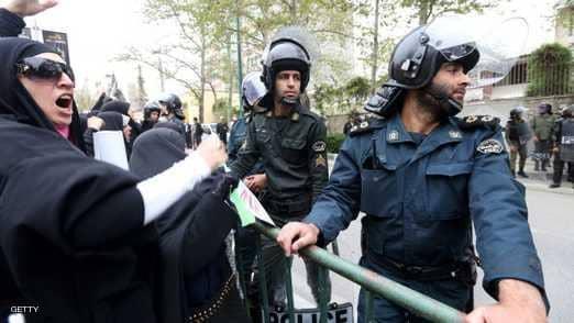 قتيلان باحتجاجات جنوب غربي إيران