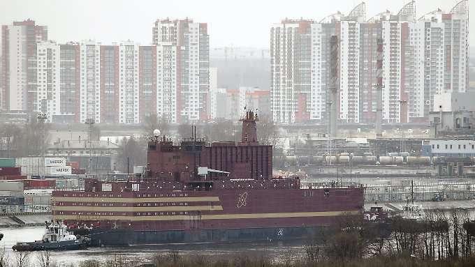 Russland weiht schwimmendes AKW ein