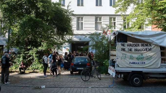 Polizei räumt besetzte Häuser in Berlin