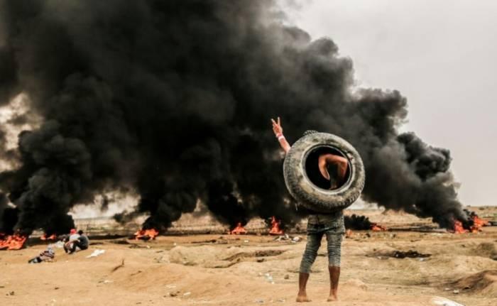 Gaza: manifestations à la frontière israélienne
