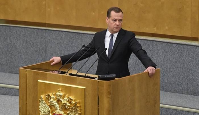 Medvedev yenidən Rusiyanın baş naziri oldu