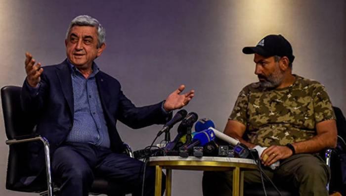 Sarkisyan Paşinyanı devirib, hakimiyyətə qayıtmaq istəyir - PLANIN DETALLARI