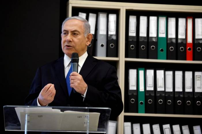 Netanyahu accuses Palestinian leader Abbas of Holocaust denial