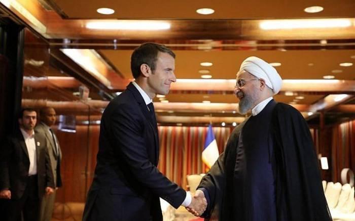Fransa prezidenti Ruhaniyə zəng edib