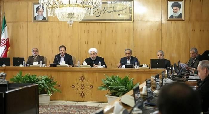 İranın Nazirlər Kabineti təcili toplandı