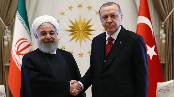 Ərdoğan və Ruhani Trampın qərarını müzakirə edib