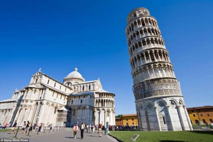 Secret of leaning tower of Pisa