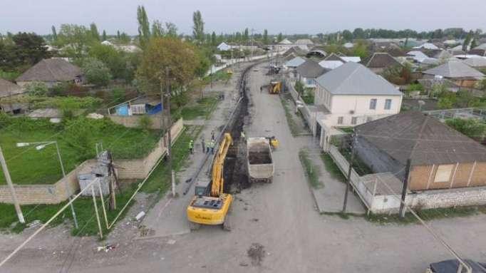 Ağdaşın su və kanalizasiya sistemləri yenidən qurulur