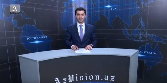 AzVision TV:Die wichtigsten Videonachrichten des Tages auf Englisch(11 Mai)-VIDEO