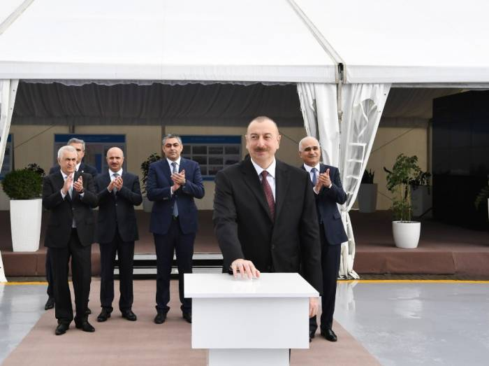 Ilham Aliyev: Azerbaijan to become transport and logistics hub - UPDATED