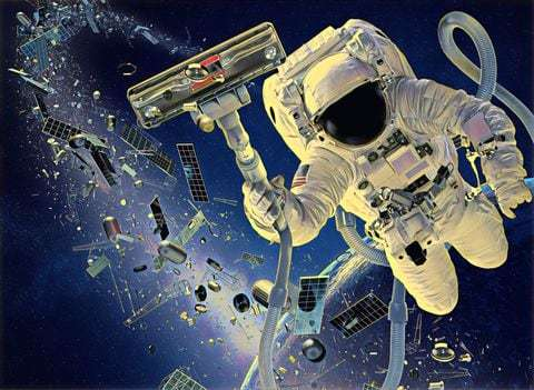 Ever wondered what's floating around in space?