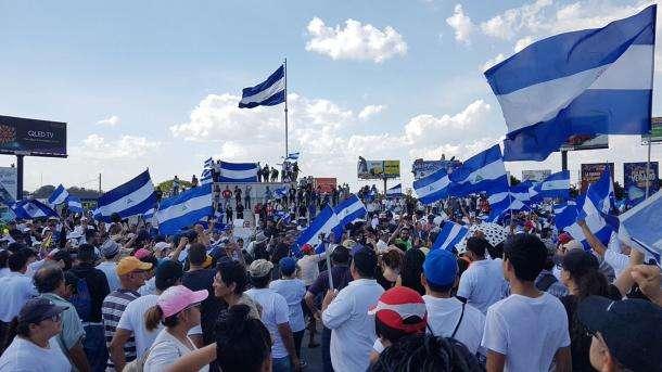 Estudiantes nicaragüenses regresan a la calle a pedir paz y democracia