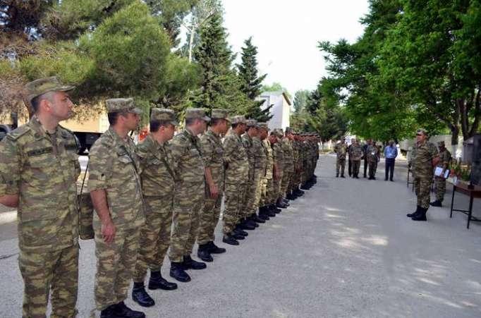 Azərbaycan Ordusunda yarış keçirilir