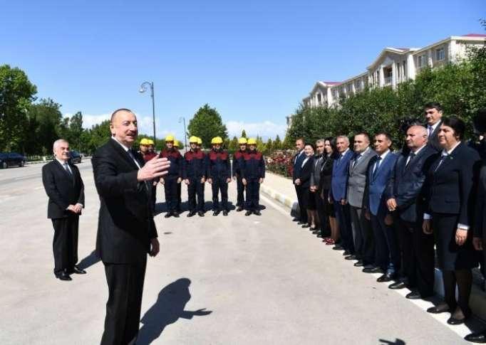 """Ilham Aliyev: """"El desarrollo socioeconómico en la República Autónoma de Najicheván progresa exitosamente"""""""