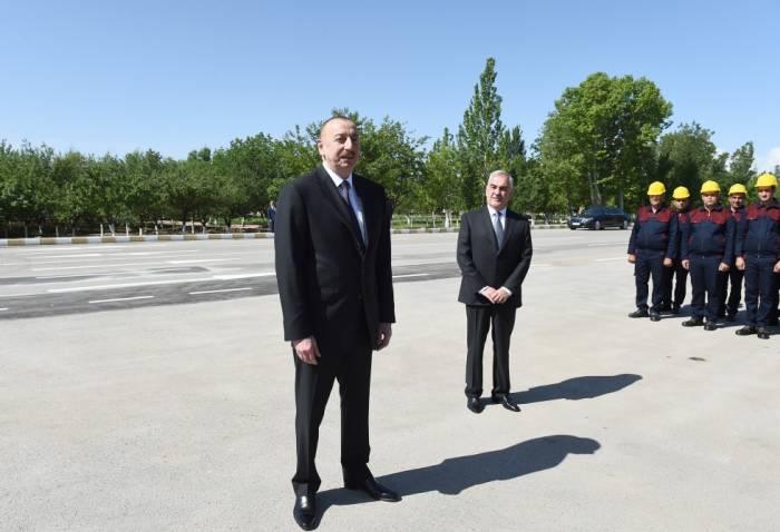 Ilham Aliyev:Nuestra política se centraliza en un ciudadano de Azerbaiyán