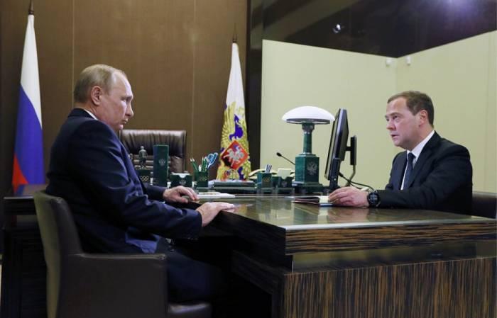 Putin Nazirlər Kabinetinin yeni tərkibini təsdiqləyib