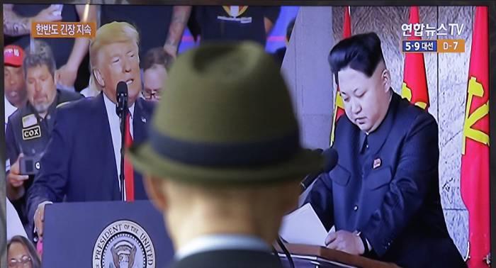 "Trump: Kim muss ""Deal machen"" – oder ""libysches Szenario"" erwarten"