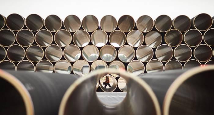 """Außenminister von USA und Schweden besprechen """"Gefahr"""" von Nord Stream 2"""