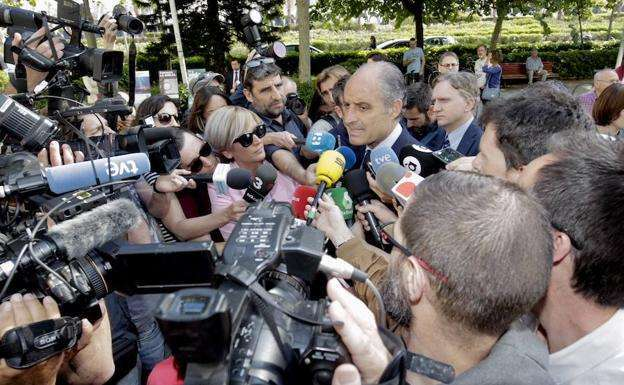 Camps responsabiliza a Compromís de estar siendo investigado por la F1