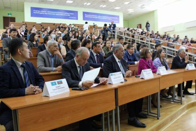 Konferenz zum 100. Jahrestag der ADR und dem 95. Geburtstag von Nationalleader Heydar Aliyev in Alma-Ata