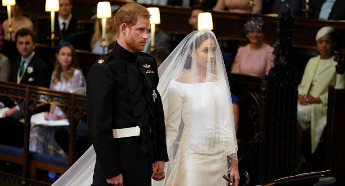 Prince Harry, Meghan Markle get married at St George