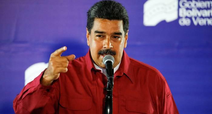 """Maduro denuncia que Trump hizo una """"campaña feroz"""" contra las elecciones"""
