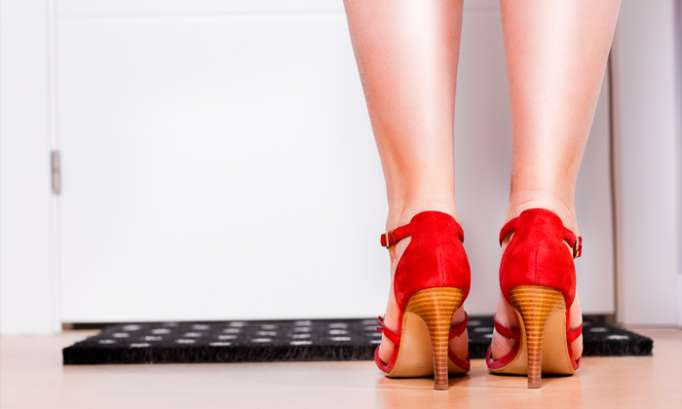 Removing shoes when entering the house could help people stay slim