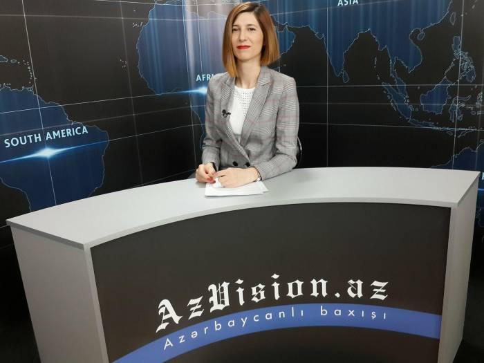 AzVision TV:Die wichtigsten Videonachrichten des Tages aufEnglisch(21 Mai)-VIDEO