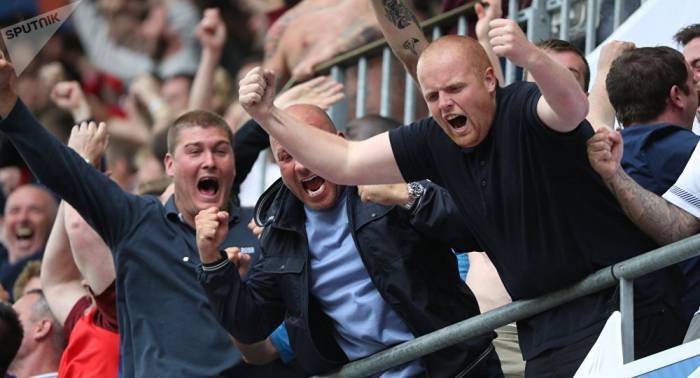 """Fußball-WM: Britische Hooligans drohen Russen mit """"Schlachthof"""" und """"Hölle"""""""