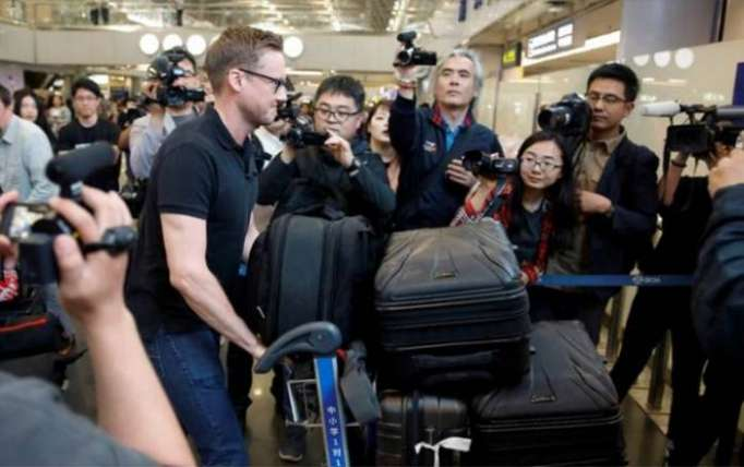 Foreign journalists arrive in N Korea to cover nuclear test site dismantling