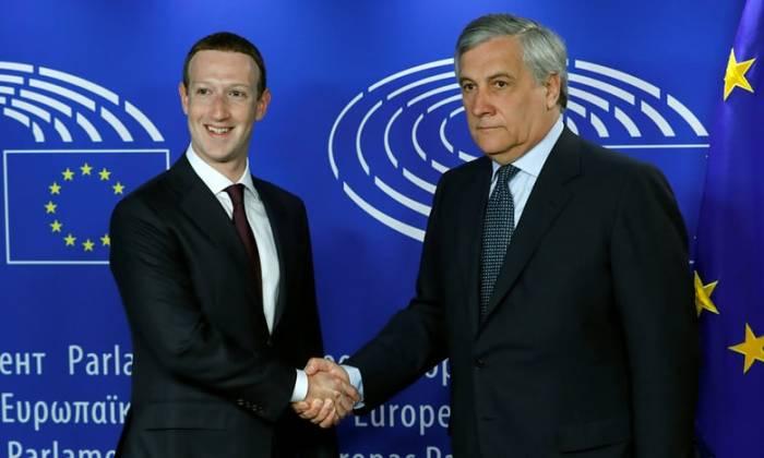 Zuckerberg apologises to European Parliament for
