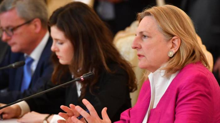 Austria apoya el pacto nuclear Irán-G5+1 ante sanciones de EEUU