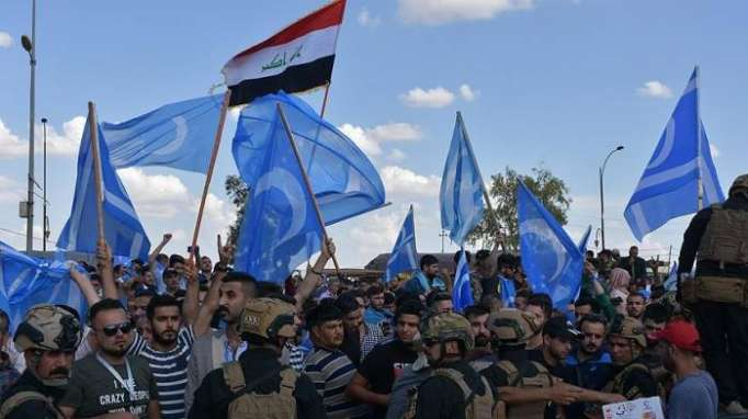 Kirkuk Arabs and Turkmen protest election fraud