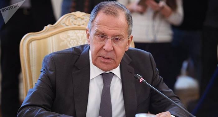 """Lavrov: """"La normalización de la situación en la península coreana tardará mucho tiempo"""""""