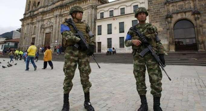 Militares y policías protegerán elecciones presidenciales en Colombia