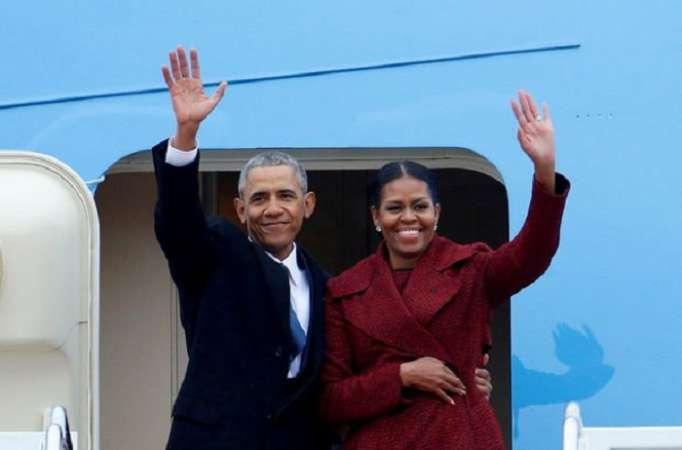 Obama xanımı ilə birlikdə serial çəkəcək