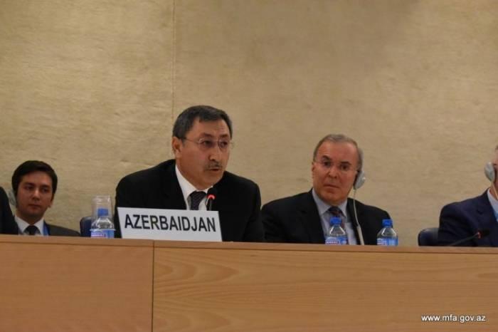 Nazir müavini BMT-də erməniləri susdurdu
