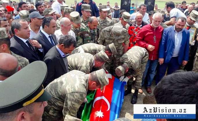 Le militaire azerbaïdjanais tué dans une provocation arménienneenterré