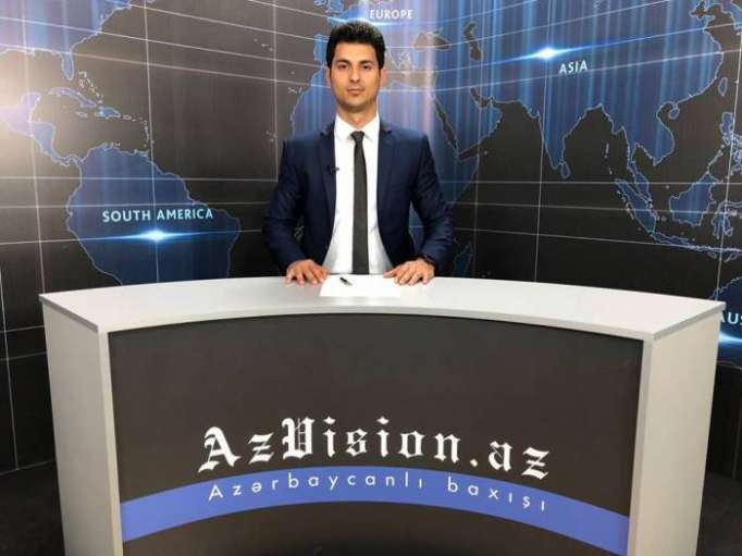 AzVision TV releases new edition of news in German for May 8-VIDEO
