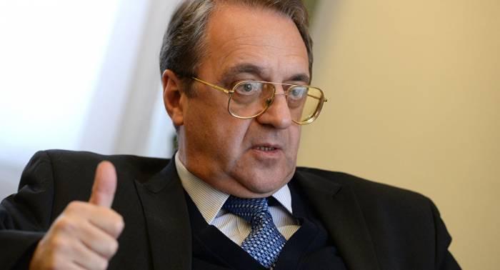 بوغدانوف يلتقي وزير الخارجية في حكومة الوفاق الليبي